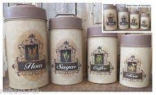 decorative kitchen canisters ebay