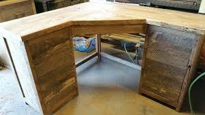 Tower Corner Desk Desk A Tower Corner Wood Computer Desk With Hutch Wood Corner