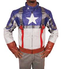 halloween costumes captain america the avenger captain america leather jacket halloween costumes