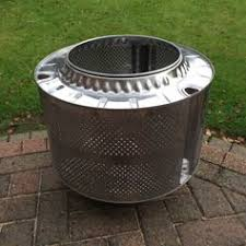 Stainless Steel Firepit Used Stainless Steel Firepit Washing Machine Drum In Bolton For