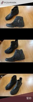 womens black suede boots size 12 navy zip up wedge wedges ankle and navy
