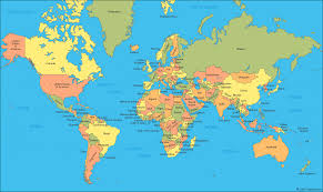 Map Of France And Surrounding Countries world map a clickable map of world countries