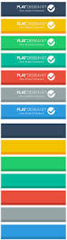 yours free flat design kit buttons and header graphics