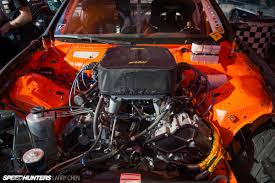 nissan 370z drift car horsepower wars the engine bays of formula drift 2015 speedhunters