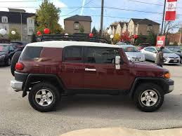 used 2008 toyota fj cruiser used 2008 toyota fj cruiser upgrade package low km u0027s for sale in