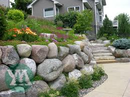 19 best rock walls images on pinterest boulder retaining wall