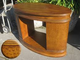 half oval console table consoletableoval oval console table uhuru furniture collectibles