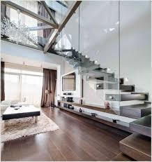 Villa Stairs Design Gorgeous Tv Under Stairs Design Villa Interior Design For Tv Wall