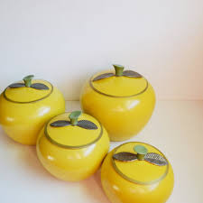 apple canisters for the kitchen shop retro cookie jar on wanelo