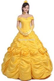 halloween costumes belle beauty beast buy women cosplay belle dress beauty and the beast princess