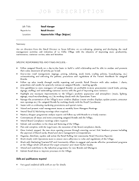 Retail Job Responsibilities Resume by Forever 21 Sales Associate Cover Letter