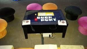 coffee table game console classic video games