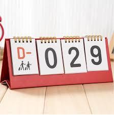 perpetual calendars 2017 creative desktop calendar table countdown