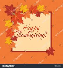 vector background thanksgiving day colorful autumn stock vector