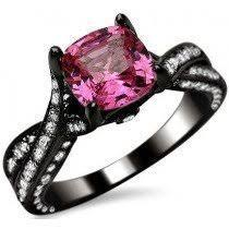 pink and black engagement rings pink and black engagement rings new wedding ideas trends