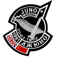 space in images 2007 05 soyuz tm 12 juno mission patch 1991