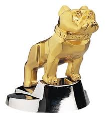 mack trucks mack gold bulldog paperweight mack shop
