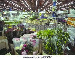 new covent garden flower market nine elms london stock photo