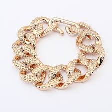 gold bracelet chain designs images Lightweight gold color chain bracelet fashion gold chain bracelet jpg