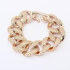 gold bracelet chain designs images Lightweight gold color chain bracelet fashion gold chain bracelet jpg