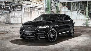 jaguar f pace grey hamann u0027s jaguar f pace isn u0027t pretty but at least it has 410 hp