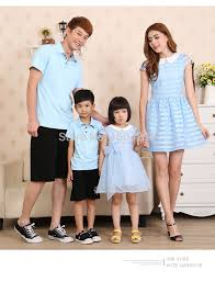 2015 family fashion pack cotton set family set clothes for