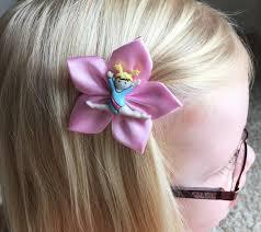 ribbon for hair that says gymnastics gymnastics gymnast hair clip hair bow pink or purple ribbon