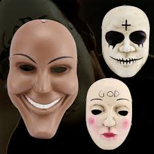 Halloween Mask Online Shop High Quality Resin Purge Moive Scary Halloween Mask