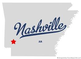 nashville on map map of nashville ar arkansas