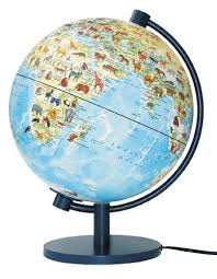 earth globes that light up an eventual gift for the nut animals of the world light up globe