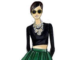 fashion sketch etsy