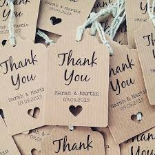 wedding tags for favors 16 thank you wedding favour tags thank you wedding favor