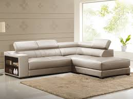 vente canapé canapé d angle cuir leeds beige angle droit prix promo canapé vente