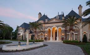 chateau design custom architectural period details historic traditional style