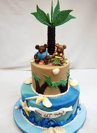 beach themed cakes sun sand surf a craftsy cake roundup