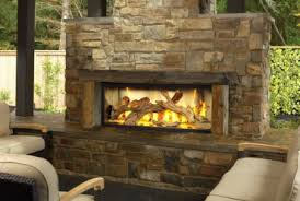 Built In Fireplace Gas by Propane Vs Natural Gas For An Outdoor Fireplace Hgtv Nativefoodways