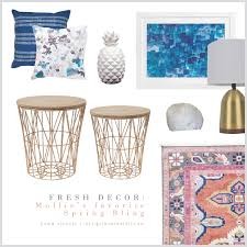 spring bling fun finds to freshen up your decor