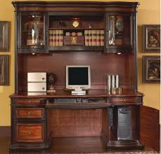 Mission Style Computer Desk With Hutch by Corner Desk With Hutch