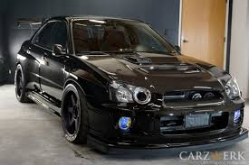 subaru voltex subaru impreza wrx with tonsss of carbon fibre parts upgraded