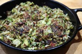 thanksgiving recipe crispy brussels sprouts hash thanksgiving