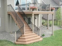 stair designs for decks a more decor