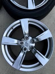 lexus is oem wheels stock 370z 18