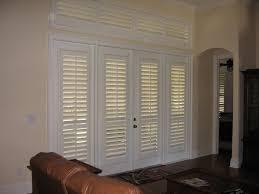 Sliding Louvered Patio Doors Sliding Door Shutters Image Of Blinds For Sliding Doors Inside