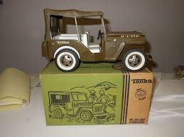 military jeep tan tonka military jeep w box on ebay ewillys