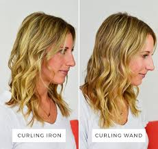 wand curled hairstyles the difference between a curling wand and a curling iron