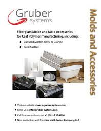 how to mold a fiberglass part page 1 of 1 gruber systems molds and process equipment catalog by gruber