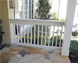 2x6 Porch Rail Construction DIY  For the backyard  Pinterest