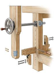 homemade leg vise google search woodworking workbench