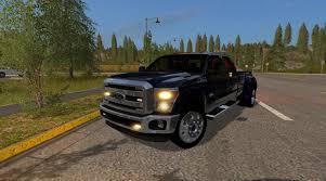 Ford F350 Landscape Truck - peterbilt landscape truck v1 0 fs17 farming simulator 17 mod