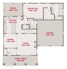Bungalow House Plans With Front Porch Main Floor Plan Plan 461 39 2265 Sq Ft 4 Beds 3 50 Baths 50 Ft